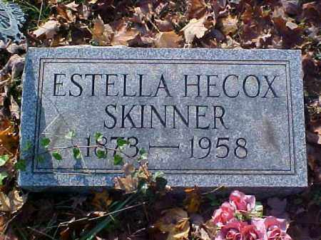 SKINNER, ESTELLA - Meigs County, Ohio | ESTELLA SKINNER - Ohio Gravestone Photos