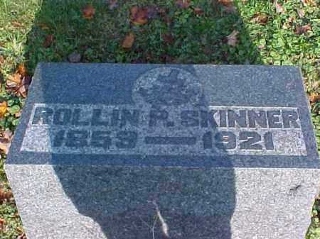 SKINNER, ROLLIN P. - Meigs County, Ohio   ROLLIN P. SKINNER - Ohio Gravestone Photos