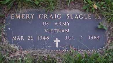 SLAGLE, EMERY CRAIG JR. - Meigs County, Ohio   EMERY CRAIG JR. SLAGLE - Ohio Gravestone Photos