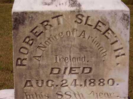 SLEETH, ROBERT - CLOSEVIEW - Meigs County, Ohio | ROBERT - CLOSEVIEW SLEETH - Ohio Gravestone Photos