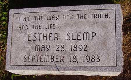 SLEMP, ESTHER - Meigs County, Ohio | ESTHER SLEMP - Ohio Gravestone Photos
