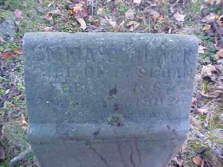 SLOAN, EMMA - Meigs County, Ohio   EMMA SLOAN - Ohio Gravestone Photos