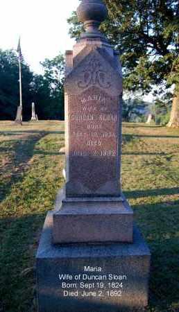 SLOAN, MARIA - Meigs County, Ohio   MARIA SLOAN - Ohio Gravestone Photos