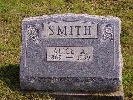 SMITH, ALICE A. - Meigs County, Ohio   ALICE A. SMITH - Ohio Gravestone Photos