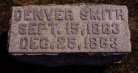 SMITH, DENVER - Meigs County, Ohio | DENVER SMITH - Ohio Gravestone Photos