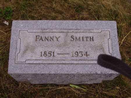 THOMAS SMITH, FANNY - Meigs County, Ohio   FANNY THOMAS SMITH - Ohio Gravestone Photos