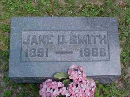 SMITH, JANE D. - Meigs County, Ohio   JANE D. SMITH - Ohio Gravestone Photos