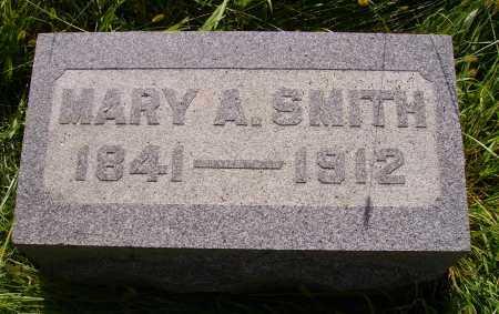 SMITH, MARY A. - Meigs County, Ohio | MARY A. SMITH - Ohio Gravestone Photos