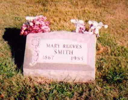 REEVES SMITH, MARY - Meigs County, Ohio | MARY REEVES SMITH - Ohio Gravestone Photos
