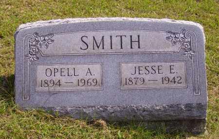 SMITH, JESSE E. - Meigs County, Ohio | JESSE E. SMITH - Ohio Gravestone Photos
