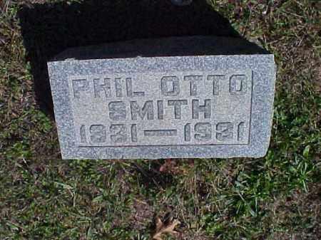 SMITH, PHIL OTTO - Meigs County, Ohio   PHIL OTTO SMITH - Ohio Gravestone Photos