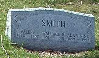 SMITH, WALLACE B. - Meigs County, Ohio | WALLACE B. SMITH - Ohio Gravestone Photos