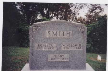 SMITH, WINSLOW H. - Meigs County, Ohio | WINSLOW H. SMITH - Ohio Gravestone Photos