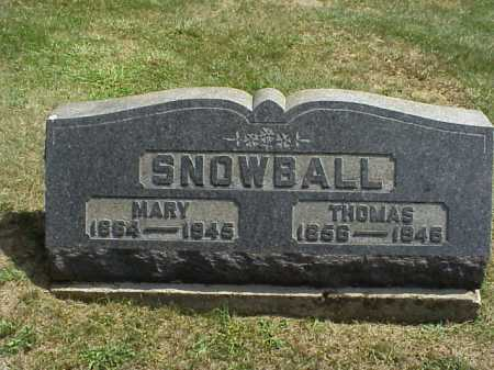 SNOWBALL, THOMAS - Meigs County, Ohio | THOMAS SNOWBALL - Ohio Gravestone Photos