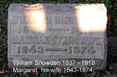 SNOWDEN, WILLIAM - Meigs County, Ohio | WILLIAM SNOWDEN - Ohio Gravestone Photos