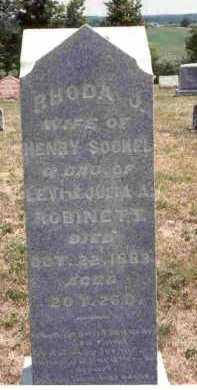 SOCKEL, RHODA J. - Meigs County, Ohio | RHODA J. SOCKEL - Ohio Gravestone Photos