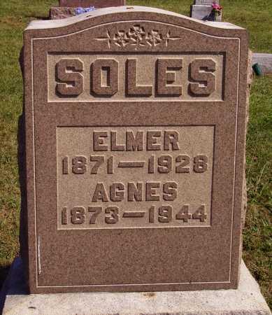 SOLES, ANGES - Meigs County, Ohio | ANGES SOLES - Ohio Gravestone Photos