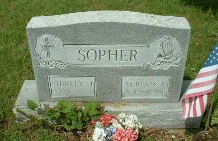 SOPHER, VERNON R. - Meigs County, Ohio | VERNON R. SOPHER - Ohio Gravestone Photos
