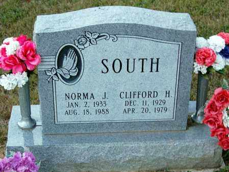 SOUTH, NORMA J. - Meigs County, Ohio   NORMA J. SOUTH - Ohio Gravestone Photos
