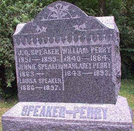 SPEAKER, J.Q. - Meigs County, Ohio | J.Q. SPEAKER - Ohio Gravestone Photos