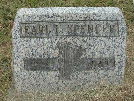 SPENCER, EARL L. - Meigs County, Ohio   EARL L. SPENCER - Ohio Gravestone Photos