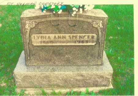 SPENCER, LYDIA - Meigs County, Ohio | LYDIA SPENCER - Ohio Gravestone Photos