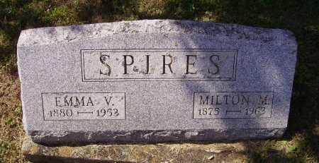 SPIRES, EMMA V. - Meigs County, Ohio | EMMA V. SPIRES - Ohio Gravestone Photos