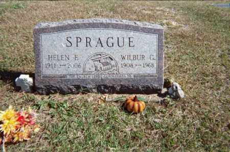 BARNHART SPRAGUE, HELEN F - Meigs County, Ohio | HELEN F BARNHART SPRAGUE - Ohio Gravestone Photos