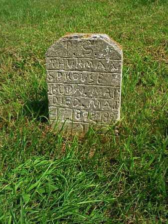 SPROUSE, T.S. THURMAN - Meigs County, Ohio | T.S. THURMAN SPROUSE - Ohio Gravestone Photos
