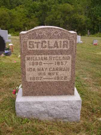 ST CLAIR, WILLIAM - Meigs County, Ohio | WILLIAM ST CLAIR - Ohio Gravestone Photos