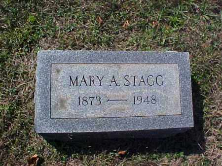 STAGG, MARY A. - Meigs County, Ohio | MARY A. STAGG - Ohio Gravestone Photos