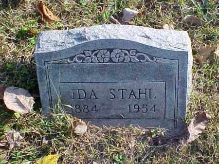 STAHL, IDA - Meigs County, Ohio   IDA STAHL - Ohio Gravestone Photos