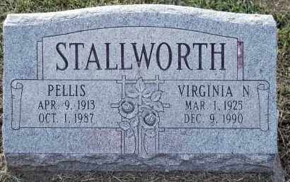 STALLWORTH, PELLIS - Meigs County, Ohio | PELLIS STALLWORTH - Ohio Gravestone Photos