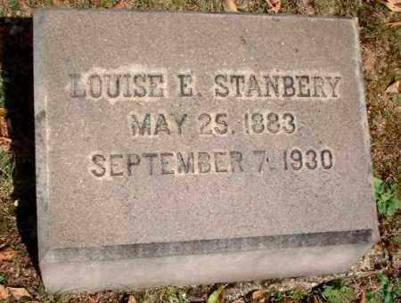 STANBERY, LOUISE E. - Meigs County, Ohio   LOUISE E. STANBERY - Ohio Gravestone Photos