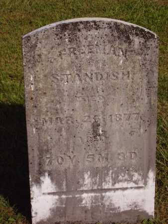 STANDISH, FREEMAN - Meigs County, Ohio | FREEMAN STANDISH - Ohio Gravestone Photos