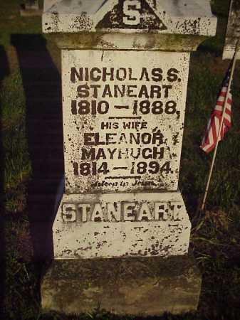 MAYHUGH STANEART, ELEANOR - Meigs County, Ohio | ELEANOR MAYHUGH STANEART - Ohio Gravestone Photos