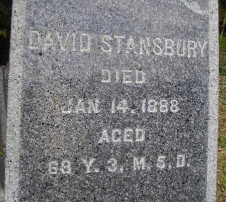 STANSBURY, DAVID - CLOSEVIEW - Meigs County, Ohio   DAVID - CLOSEVIEW STANSBURY - Ohio Gravestone Photos