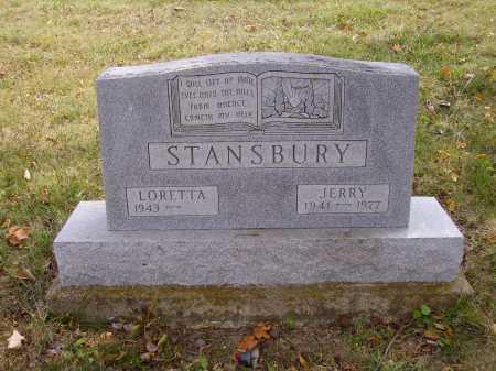 STANSBURY, JERRY - Meigs County, Ohio | JERRY STANSBURY - Ohio Gravestone Photos