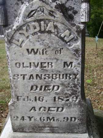 STANSBURY, LYDIA N. - Meigs County, Ohio   LYDIA N. STANSBURY - Ohio Gravestone Photos