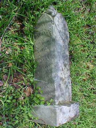 STARK, BARBARA - Meigs County, Ohio | BARBARA STARK - Ohio Gravestone Photos