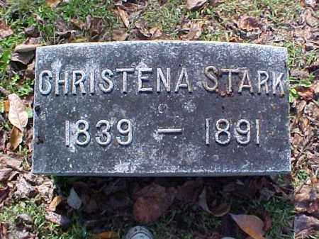 STARK, CHRISTENA - Meigs County, Ohio | CHRISTENA STARK - Ohio Gravestone Photos