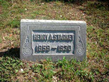 STARKEY, HENRY A. - Meigs County, Ohio | HENRY A. STARKEY - Ohio Gravestone Photos