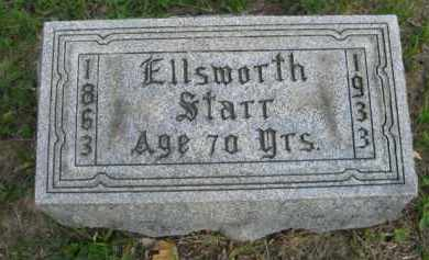 STARR, ELLSWORTH - Meigs County, Ohio   ELLSWORTH STARR - Ohio Gravestone Photos
