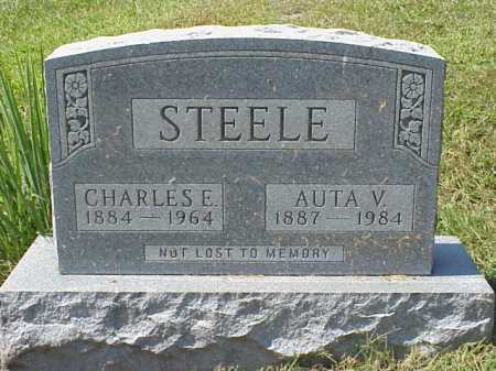 STEELE, AUTA V. - Meigs County, Ohio | AUTA V. STEELE - Ohio Gravestone Photos