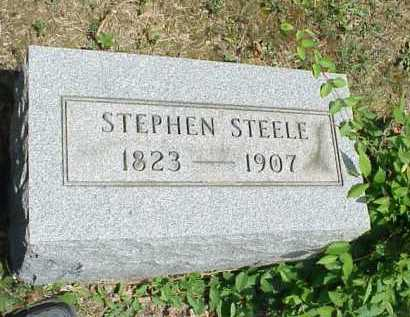 STEELE, STEPHEN - Meigs County, Ohio   STEPHEN STEELE - Ohio Gravestone Photos