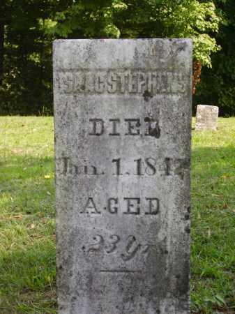 STEPHENS, ISAAC - Meigs County, Ohio | ISAAC STEPHENS - Ohio Gravestone Photos