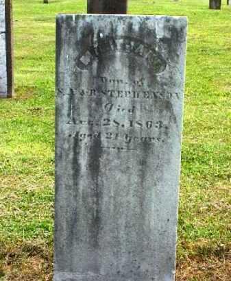 STEPHENSON, MARY JANE - Meigs County, Ohio | MARY JANE STEPHENSON - Ohio Gravestone Photos