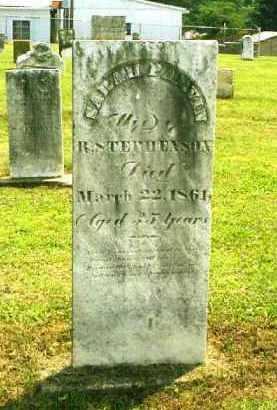 STEPHENSON, SARAH - Meigs County, Ohio | SARAH STEPHENSON - Ohio Gravestone Photos