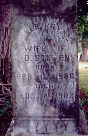 STEVENS BRYNE, ANER - Meigs County, Ohio | ANER STEVENS BRYNE - Ohio Gravestone Photos