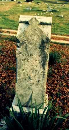 STEVENS, JOHN F. - Meigs County, Ohio | JOHN F. STEVENS - Ohio Gravestone Photos